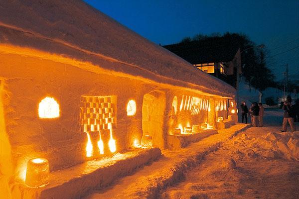 雪旅籠の灯り_b